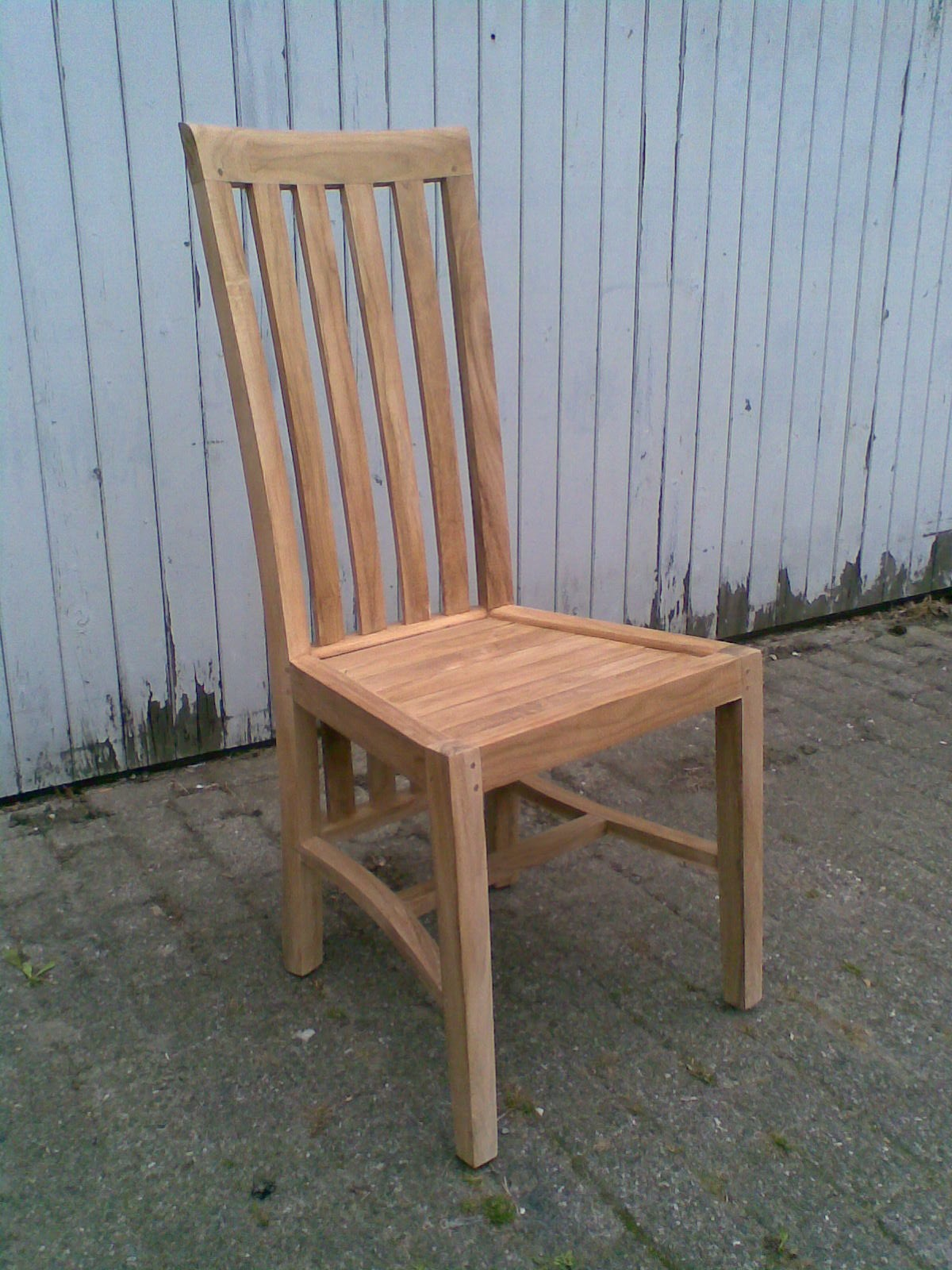 Massieve teak stoel - Moderne massieve bureau ...
