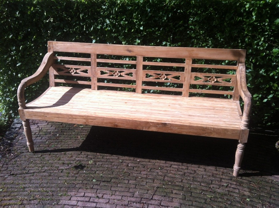 Stationsbanken  Teak in drie maten-3