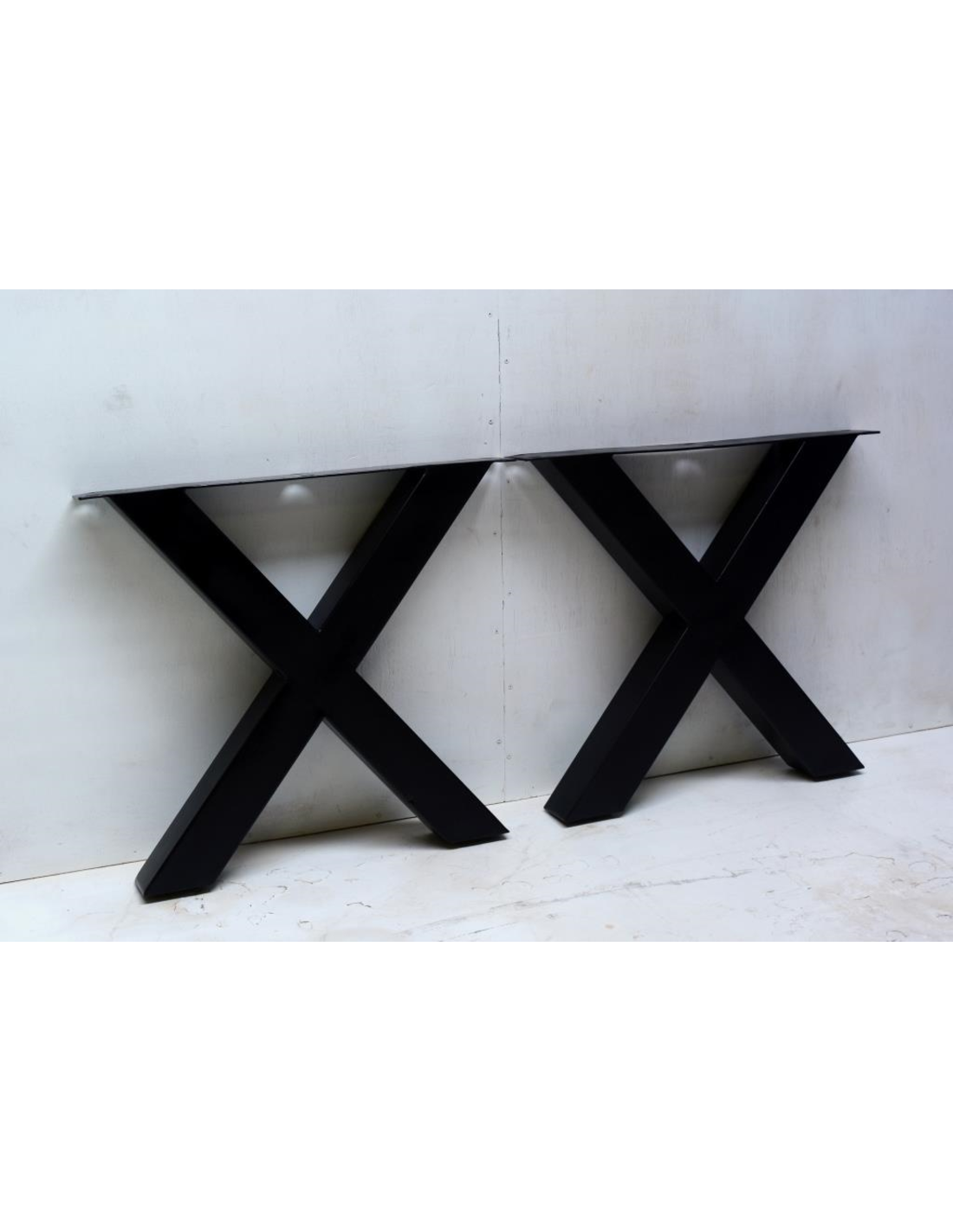table-x-leg-set-of-2-black-powder-coating