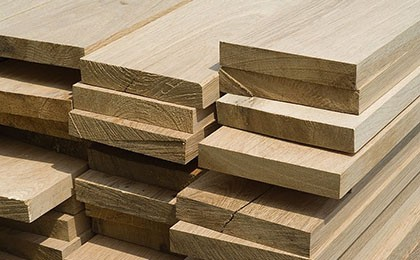 Assortiment losse teak planken-1